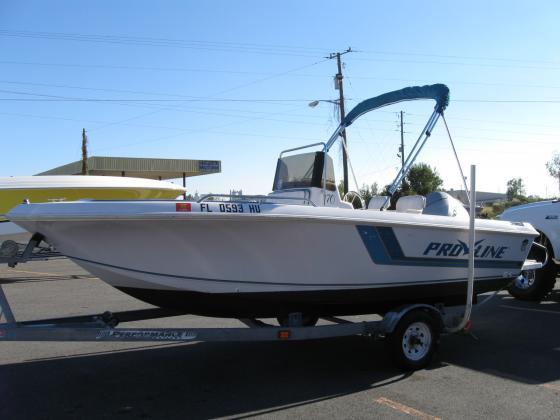 Pro Line Boats >> 1998 Pro-Line Center Console 18 in Adel GA