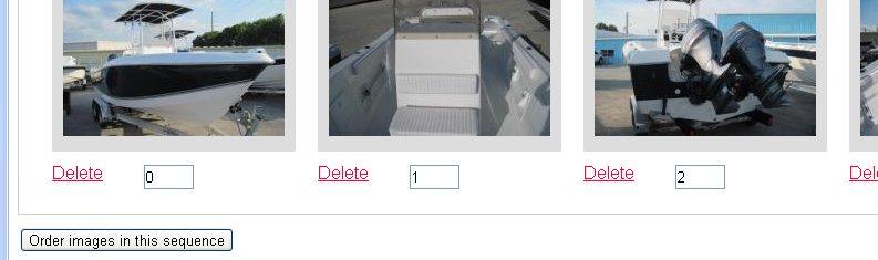 Marine Bay Control Panel